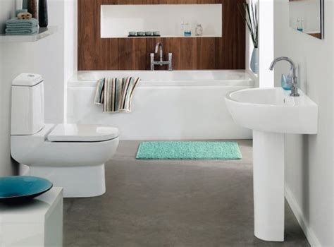 Teal And White Bathroom White Teal And Aqua Marine Bathroom With Wood Feature Interior Design Ideas