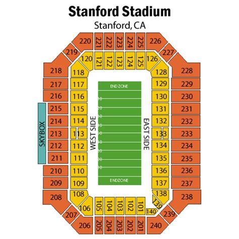stanford stadium seating stanford cardinal football vs washington huskies football