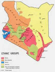 Ethnic Map Of Africa by Ilchamus In Kenya Joshua Project