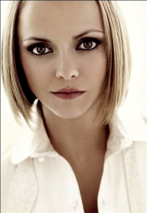 Hairstyles For Blonde Hair And Brown Eyes | christina ricci brown eyes with blonde hair hairstyles