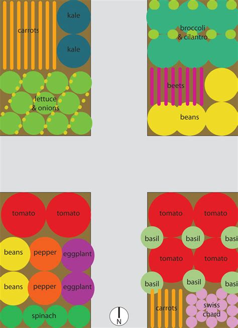 Companion Planting Vegetable Garden Layout Vegetable Garden Plans For Raised Beds Loooove The