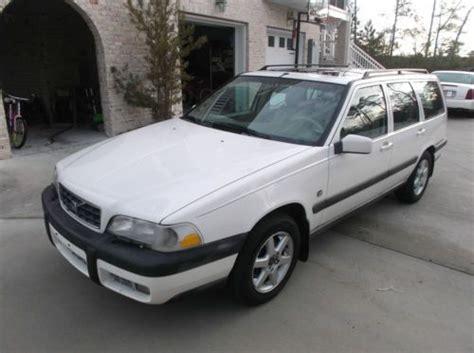 how cars run 1999 volvo v70 parking system buy used 1999 volvo xc70 wagon v70 in wilmington north carolina united states