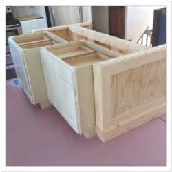 build a diy kitchen island build basic diy kitchen island tutorial from pre made cabinets