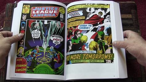 justice league international omnibus 1401273866 justice league of america bronze age omnibus hardcover comic review youtube