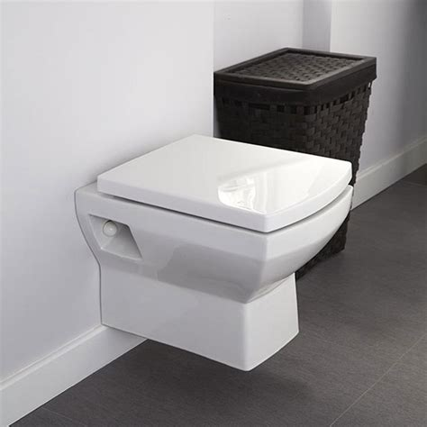 square toilet back to wall toilet bathroom btw wc wall hung mounted