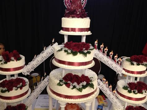 Quinceanera Cakes by The Gallery For Gt Quinceanera Castle Cakes