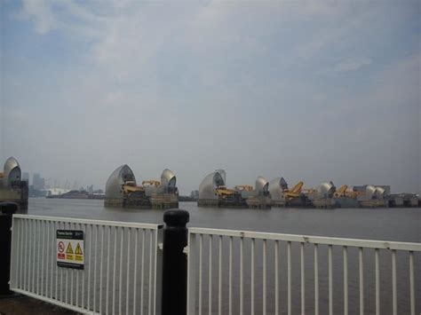 thames barrier visitor centre reviews barrier from thames path picture of the thames barrier