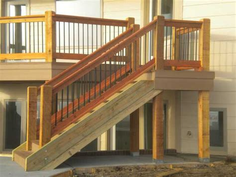 decking banister deck stairs bscconstruction s blog