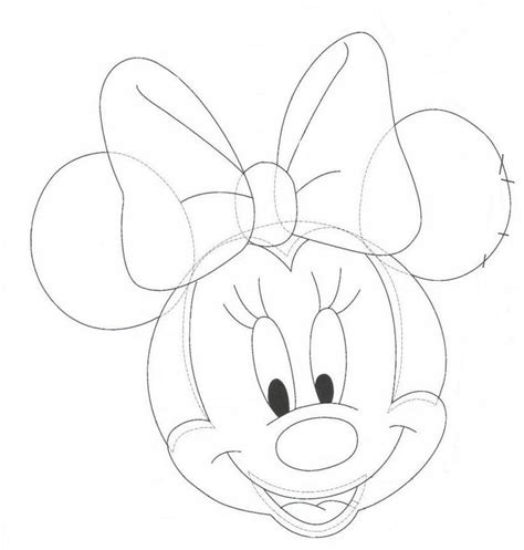minnie mouse drawings az coloring pages
