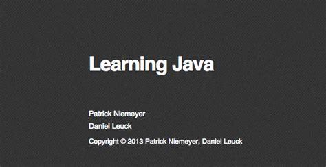 best java books 2015 100 best free programming books devzum