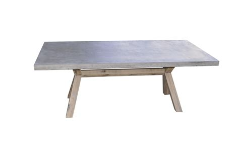 concrete outdoor table copenhagen concrete timber outdoor table 200cm