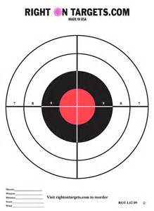 printable 8 inch targets search results for printable 8 x 11 shooting targets