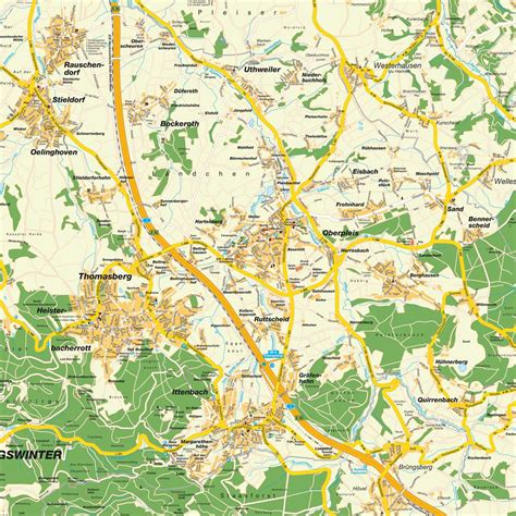 Home Design Pictures Free by Map Of Greater K 246 Nigswinter Nrw Germany Maps And