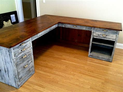 wood l shaped computer desk l shaped desk from furniture from the barn see more at