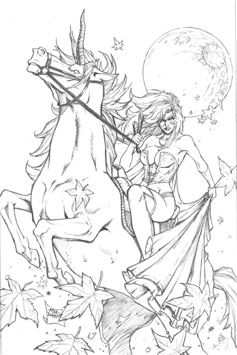 unicorn coloring book an coloring book with relaxing and beautiful coloring pages unicorn gifts for books grimm tales 43 pencils by squirrelshaver on deviantart