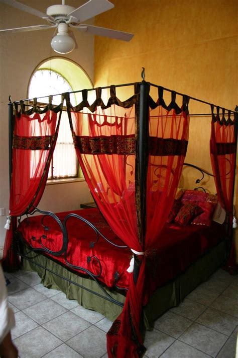 red canopy bed curtains 20 stunning canopy bed curtains for romantic bedroom decor