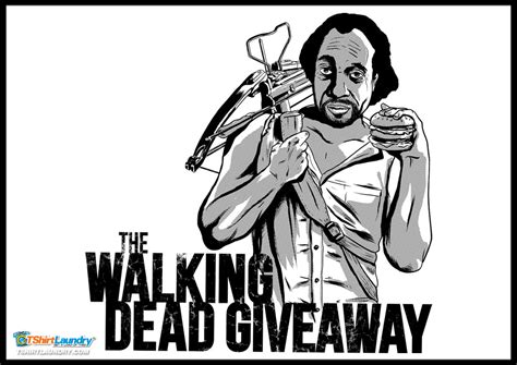 The Dead Giveaway - dead giveaway tshirt