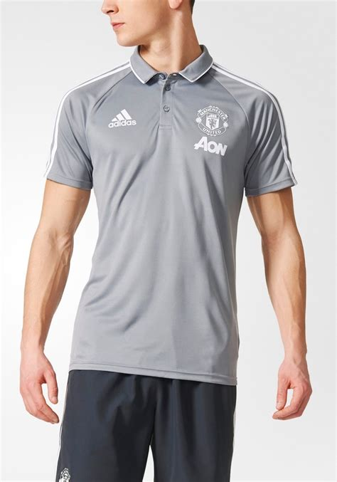 Polo Shirt Manchester United Limited manchester united adidas polo shirt 2017 18 stretch sleeves ebay