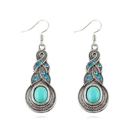 fashion s drop earrings silver brilliant