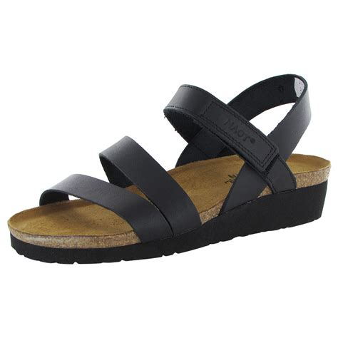 shoe sandals naot womens backstrap wedge sandal shoe ebay