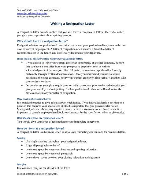 nhs resignation letter example resignletter org