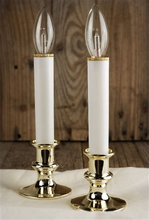 battery operated window candle lights set of 2