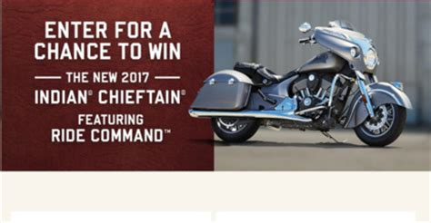 Sweepstakes India - motorcycle sweepstakes and giveaways 2014 autos post