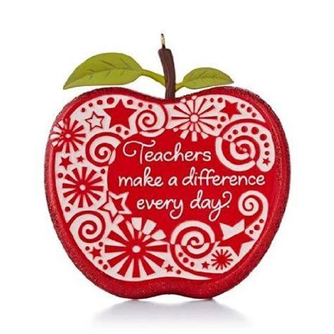 teacher christmas ornament hallmark 2013 christmas