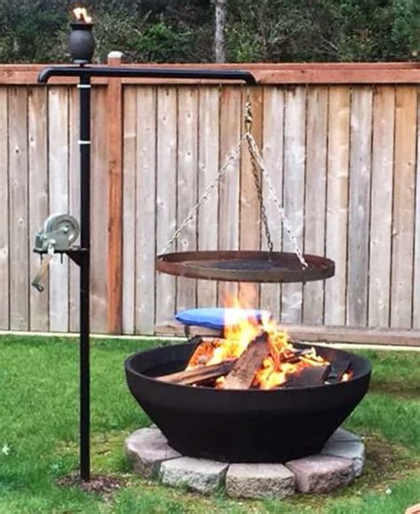 27 Surprisingly Easy Diy Bbq Fire Pits Anyone Can Make Bbq Firepit