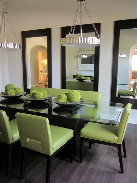 Mirror In Dining Room Interior Design by Homegoods Decorating With Mirrors