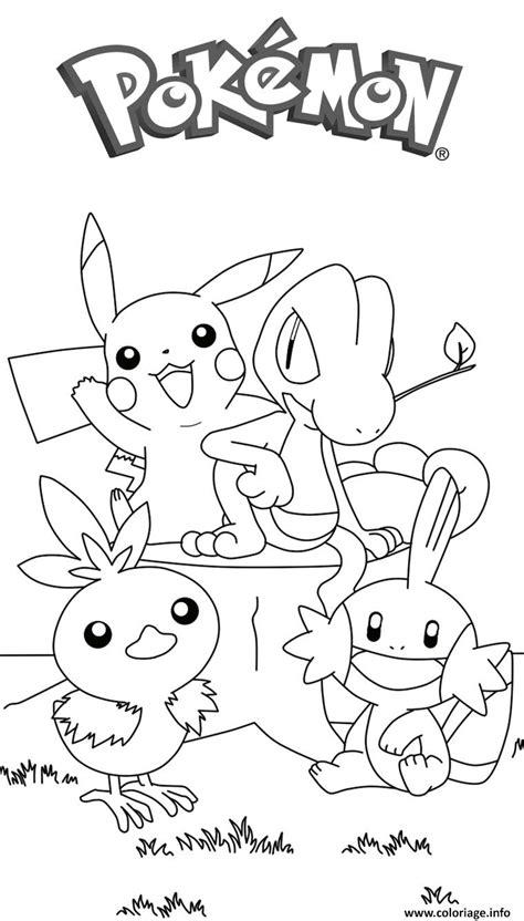 Coloriage Pikachu 179 Dessin