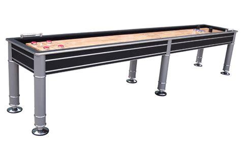 12 Foot Shuffleboard Table by Berner Billiards Quot The Cosmopolitan Quot Shuffleboard Table In