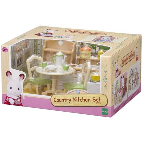 sylvanian country kitchen sylvanian families country kitchen set 5033 ebay