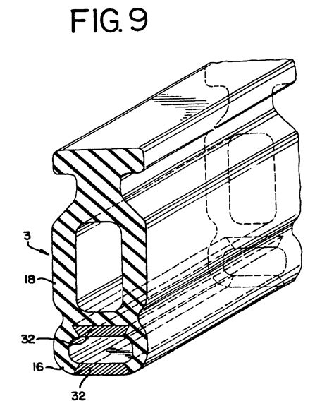Patent Us6427382 Dual Safety Edge For An Overhead Door Overhead Door Safety Edge