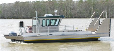 used scully aluminum boats for sale 34 work boats scully s aluminum boats inc