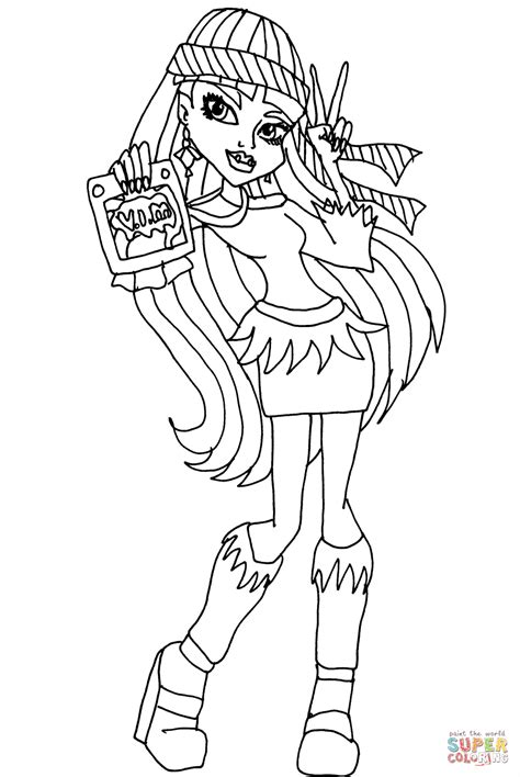 abbey bominable vim coloring page free printable