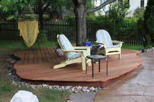 How To Level Ground For Patio by Ground Level Decks Pa Deck Builders And Patio Contractors