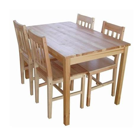 jual jysk furniture lacquered pine tylstrup set meja makan