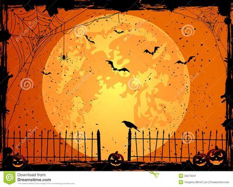 imagenes de halloween fondos fondo de halloween con la luna imagen de archivo imagen