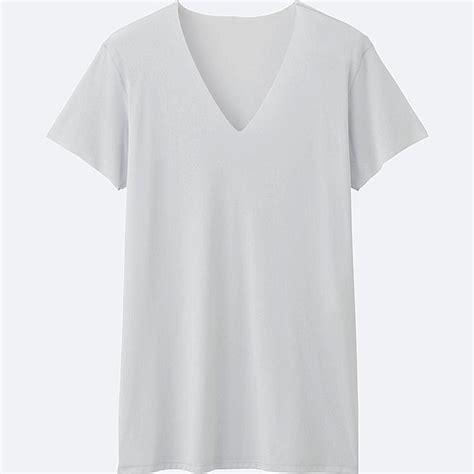 V Neck Sleeve T Shirt airism seamless v neck t shirt sleeve uniqlo us