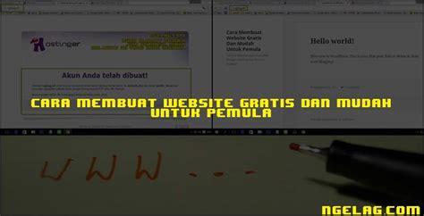 cara membuat website untuk pemula gratis acer luncurkan 4 varian laptop acer swift ngelag com