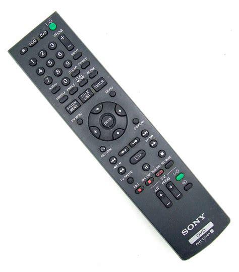 Remote Tv Sony Rmt Tx110p original sony remote rmt d246p dvd remote