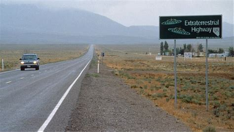 Ranch by Footage From Area 51 Military Base Shows Alien Craft