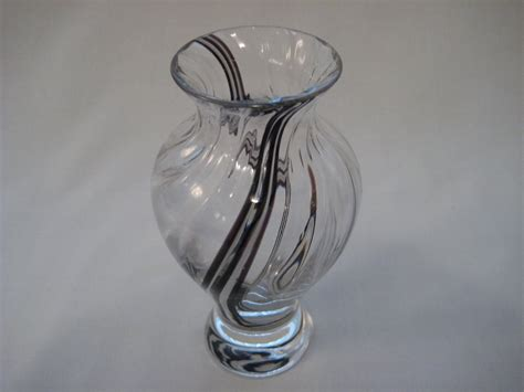 Caithness Glass Vase vintage scottish caithness glass vase one offs
