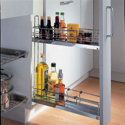 Hafele Pull Out Pantry by Hafele Kessebohmer Base Pull Out 2 Tier 90 545 61 232