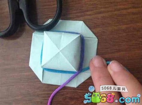 夏日的太阳帽折纸方法 折纸帽子的步骤图解(10)_折纸大全 5068儿童网
