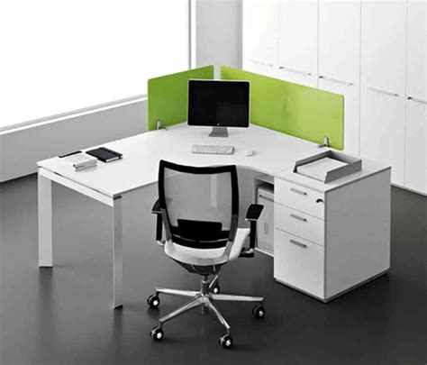 White Corner Office Desk Decor Ideasdecor Ideas Office Corner Desks