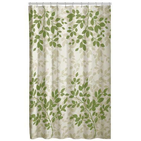 walmart shower curtains canada mainstays fabric shower curtain walmart canada