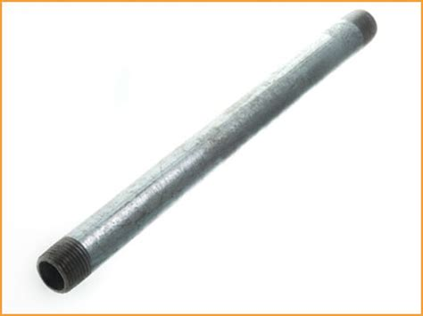 What Is Galvanized Plumbing by Galvanized Pipe Size Chart