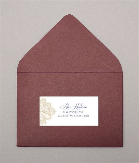 wedding mailing labels templates wedding address labels lace and address label template on